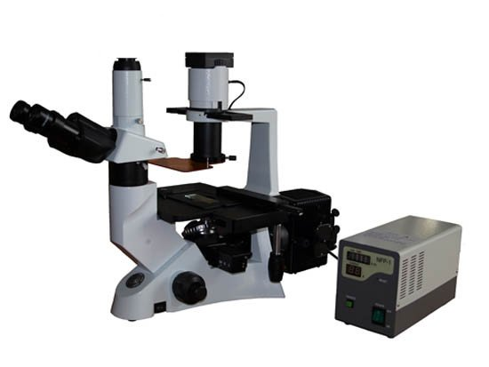 Mikroskop odwrócony z fluorescencją MBI 100 TFL